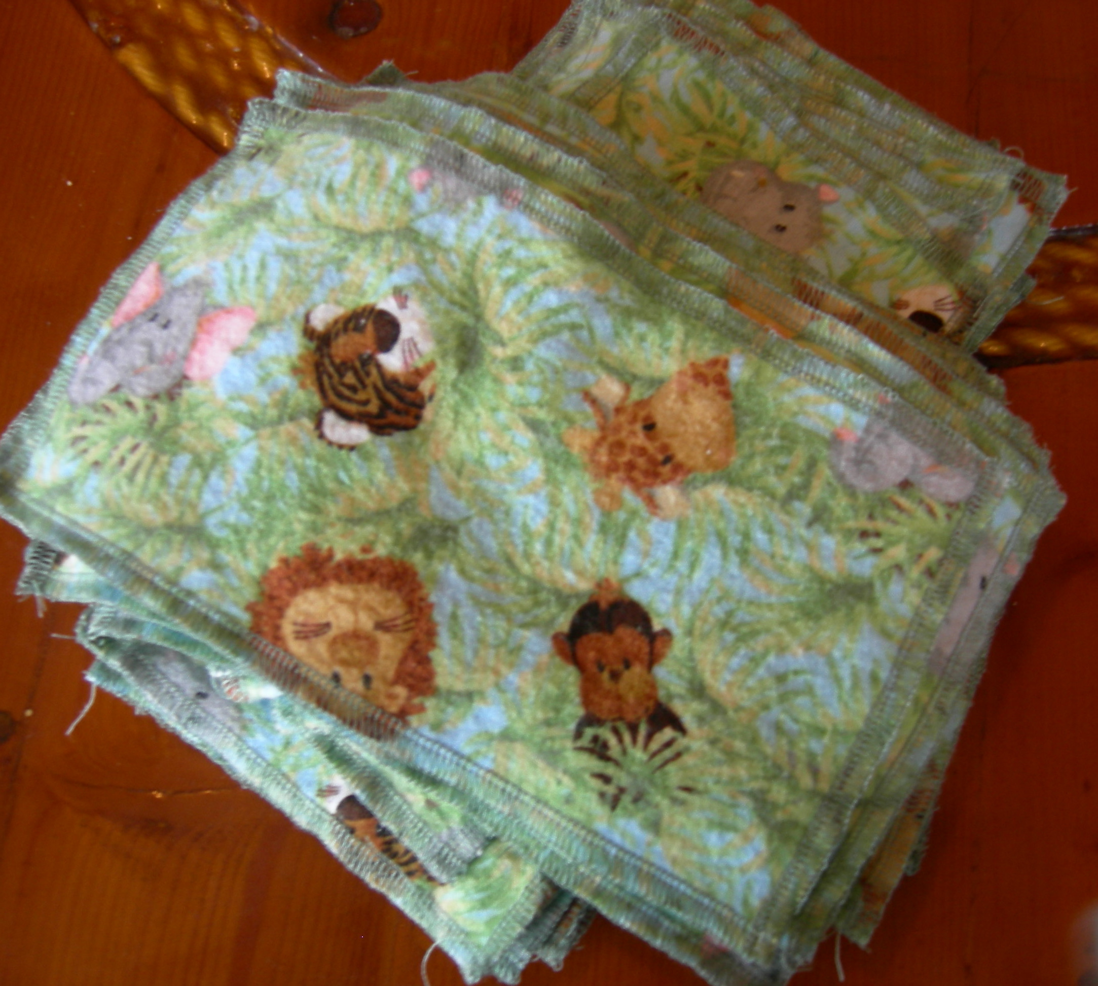 Cloth Baby Wipes An Attempt at Green Frugal Living