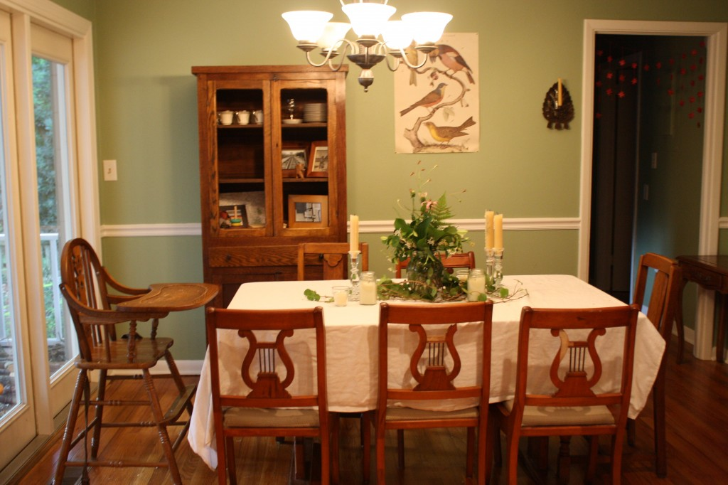 Our House, Part VI: The Dining Room