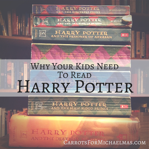 Why Your Kids Need to Read Harry Potter