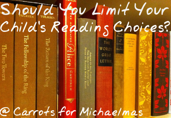 Should You Limit Your Child's Reading Choices?