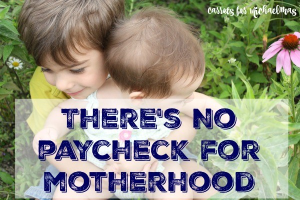 There's No Paycheck for Motherhood: Finding Value in the Home