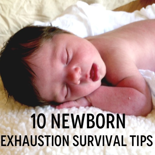 10 Newborn Exhaustion Survival Tips // Carrots for Michaelmas