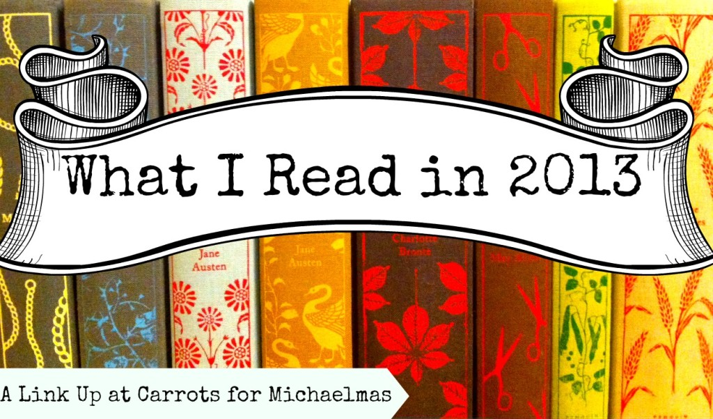 What I Read in 2013