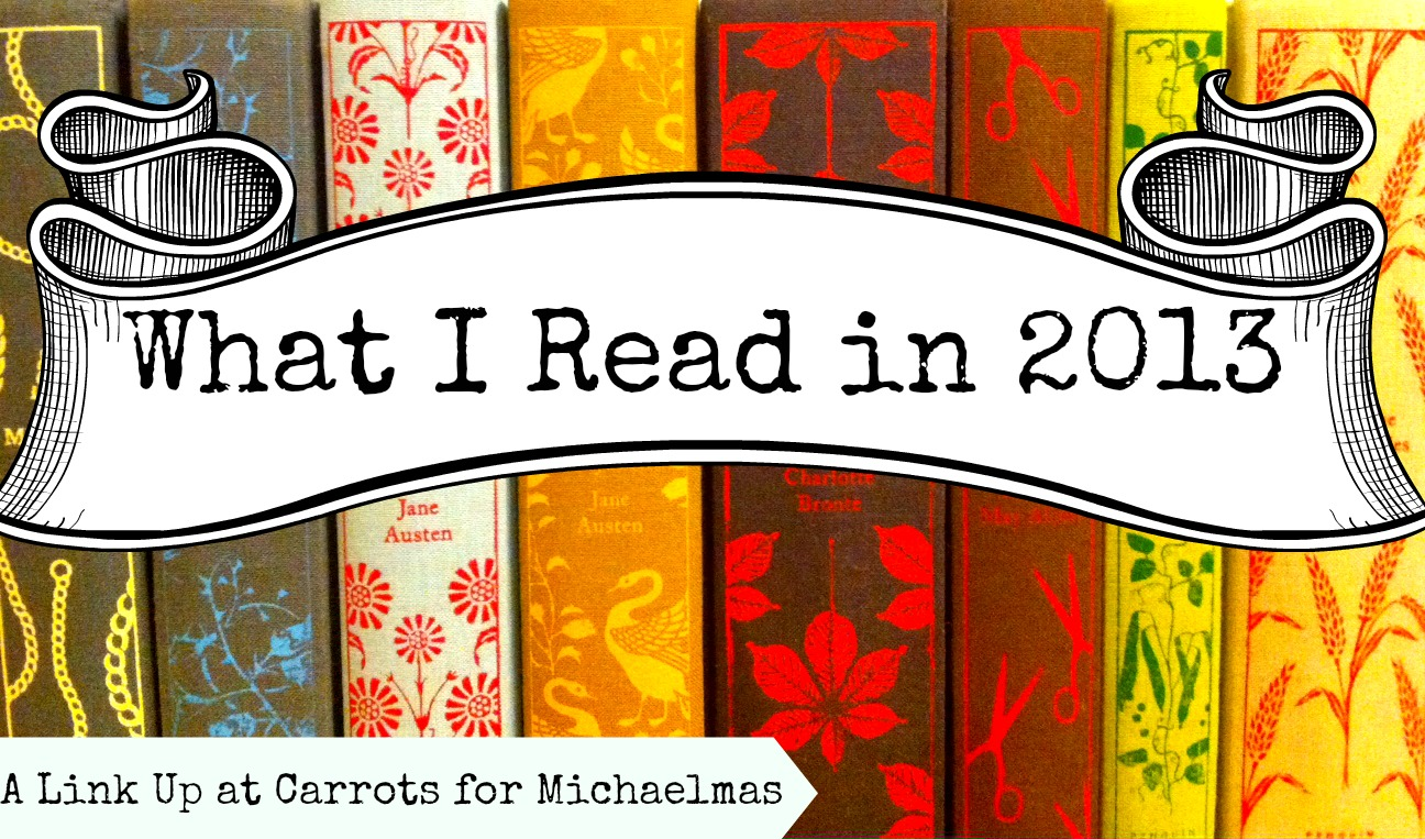 WhatIReadIn2013