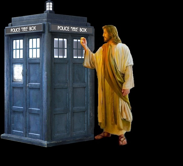 Jesus and tardis