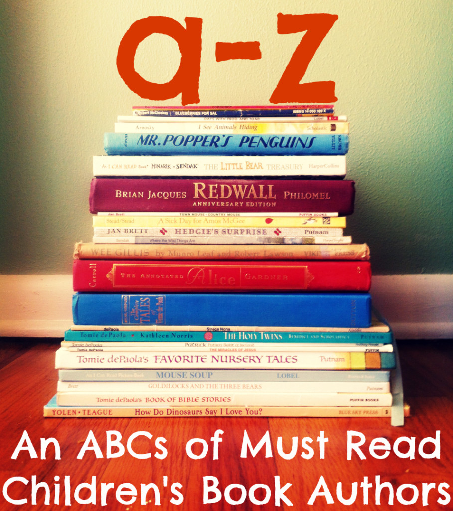 An ABCs of Must-Read Children's Book Authors