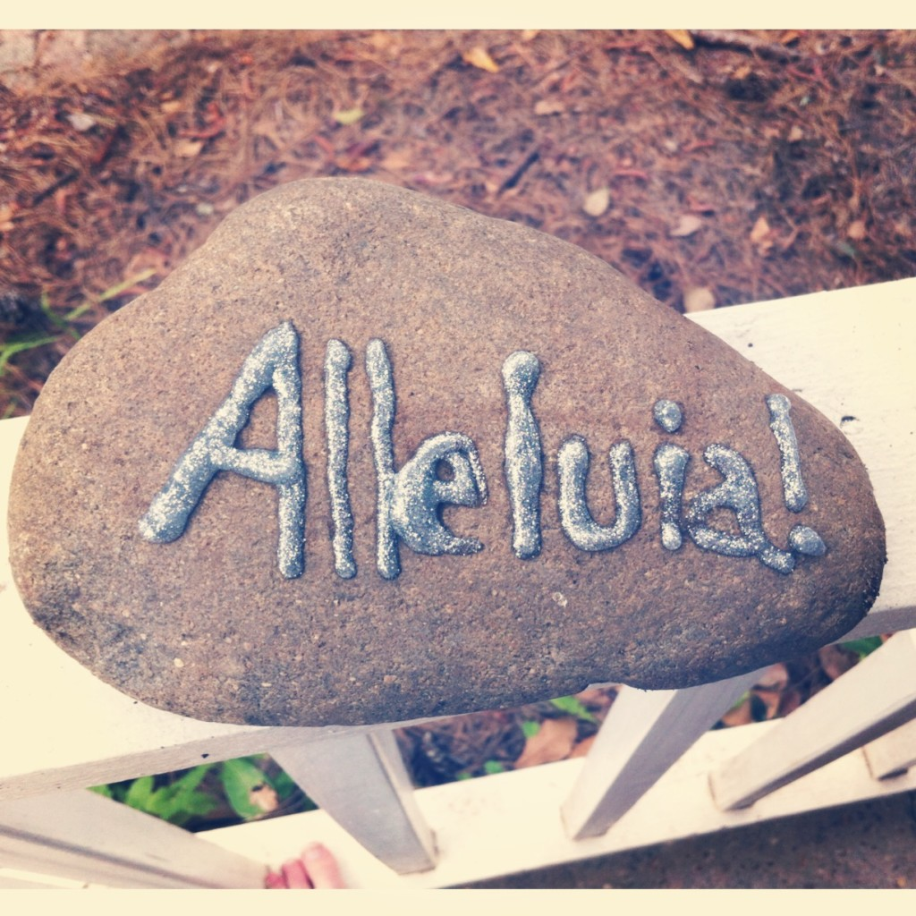 Bury the Alleluia and Other Last Minute Lent Resources