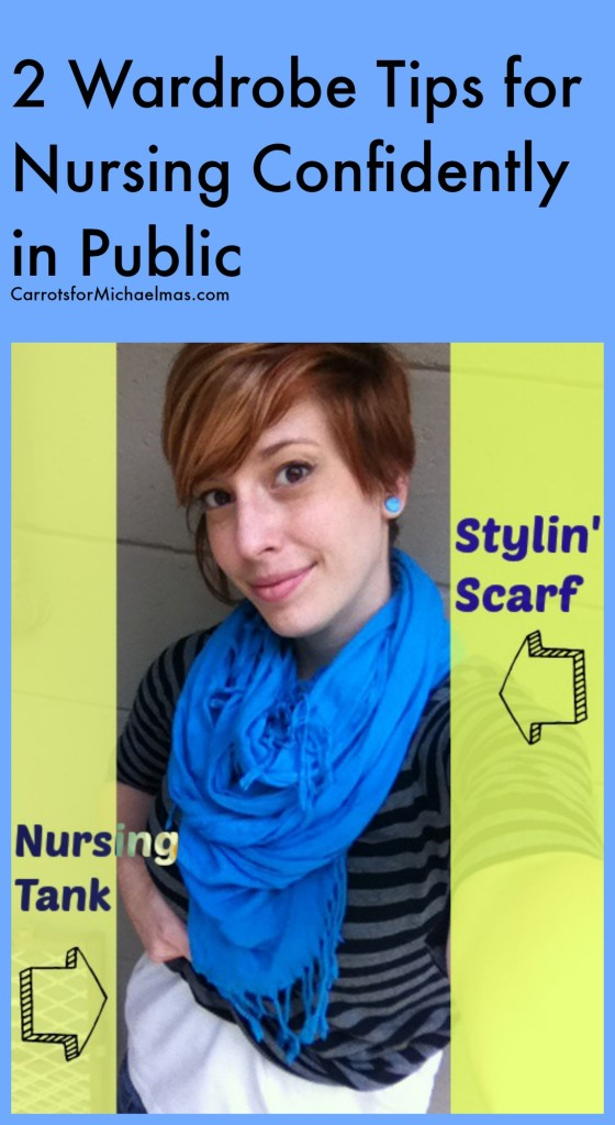 How to be confident nursing in public
