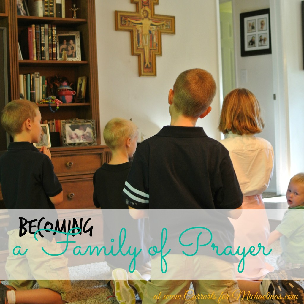 Becoming a Family of Prayer