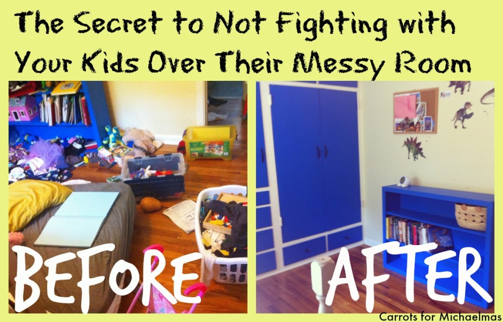 The Secret to Not Fighting With Your Kids About Their Messy Room