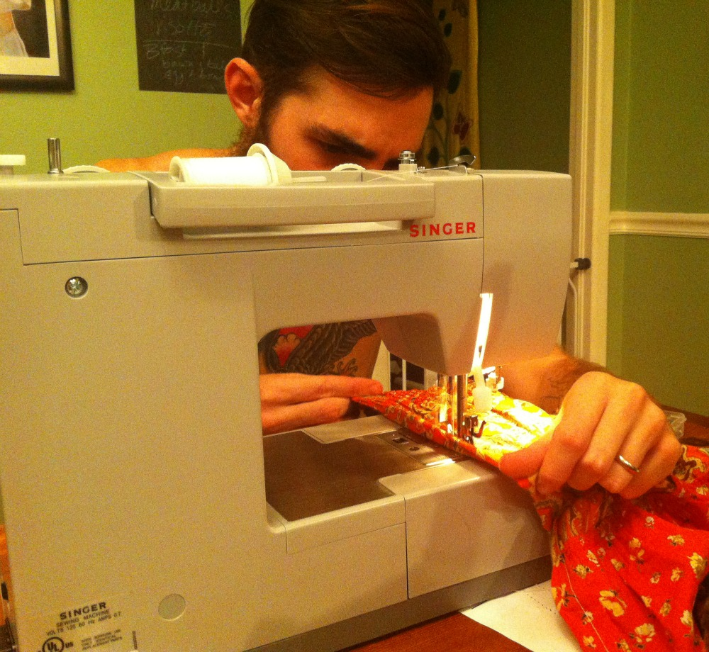 In Which Daniel Reviews a Book on Sewing (and a Giveaway!)