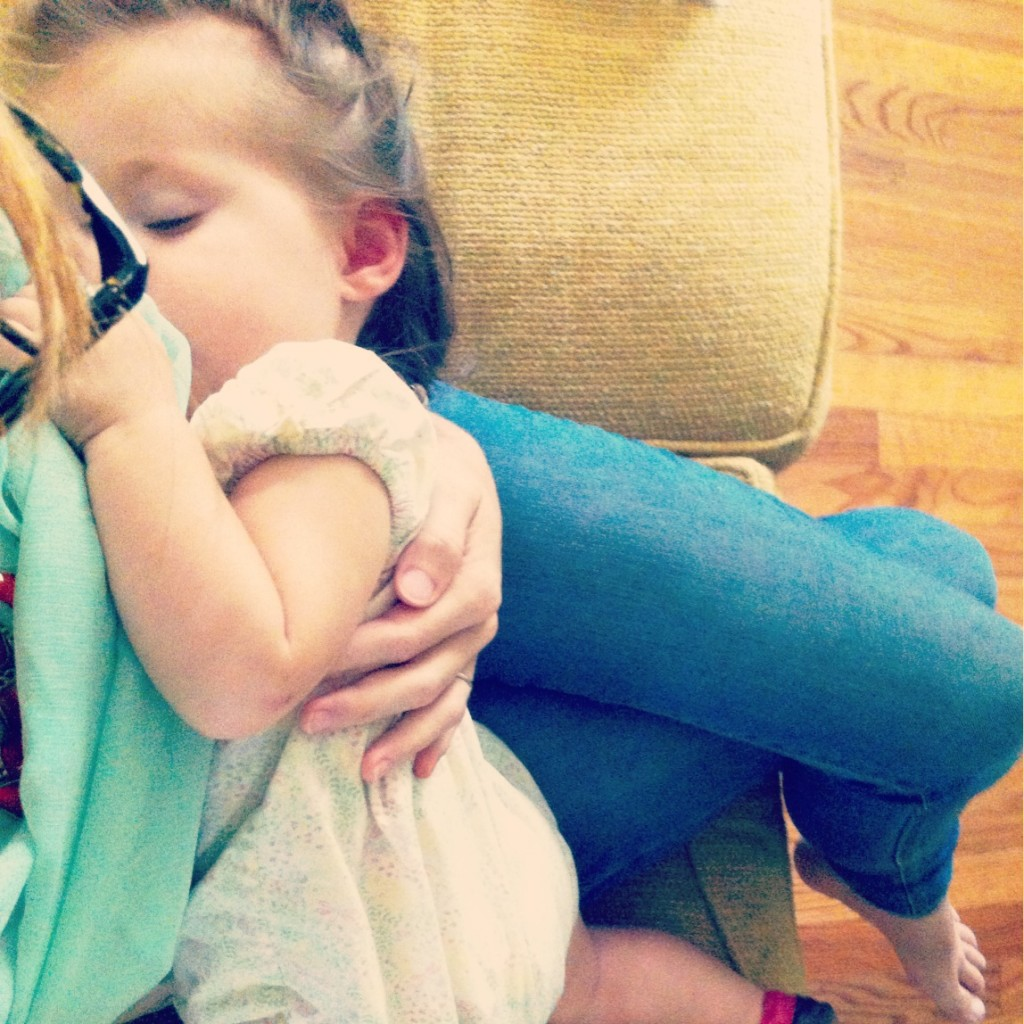 Finding Your Groove When Nursing a Toddler