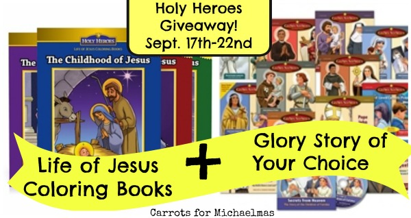 Holy Heroes Giveaway // Carrots for Michaelmas