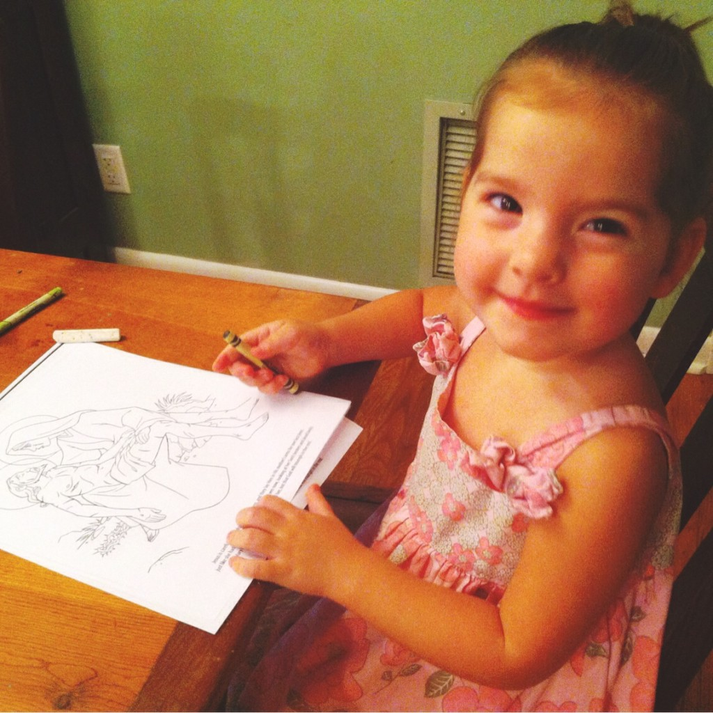 Holy Heroes Coloring Books Giveaway// Carrots for Michaelmas