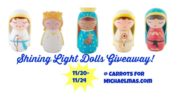 Baby-Friendly Saintly Gifts (Shining Light Dolls GIVEAWAY!)