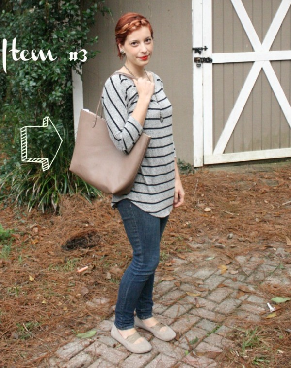 Street Level Parvin Reversible Hang Tag Detail Tote Stitch Fix