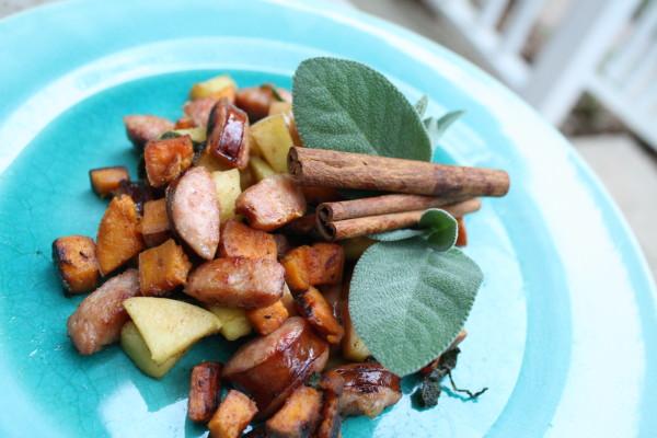Sweet Sweet Potato Hash Recipe (Gluten-free, Egg-Free)// Carrots for Michaelmas