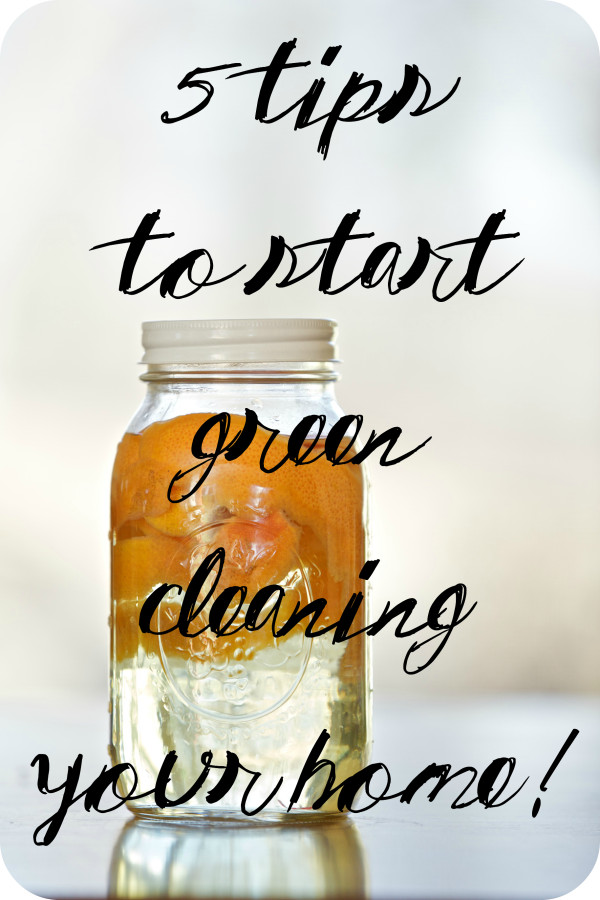 5 Tips to Start Green Cleaning Your Home