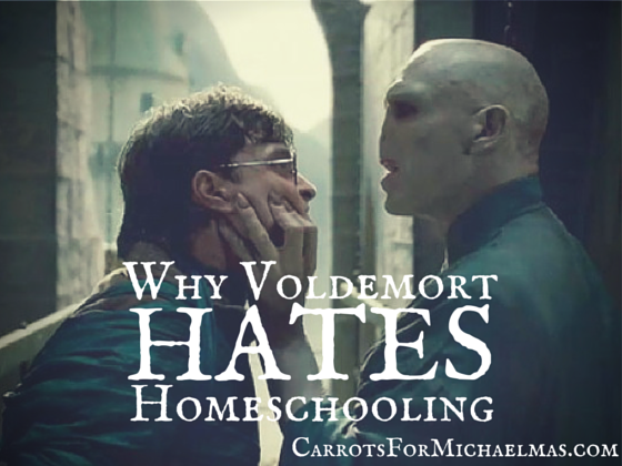 Why Voldemort Hates Homeschooling