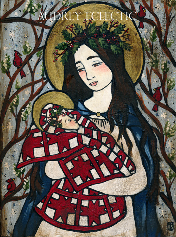 Our Lady in Art by Heather Sleightholm