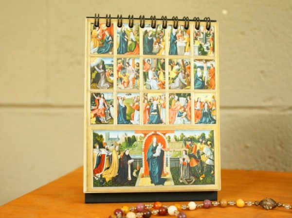 Rosary Flipbook from the Sacred Art Series