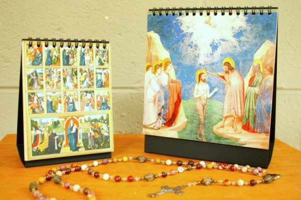 Rosary Flipbooks from the Sacred Art Series