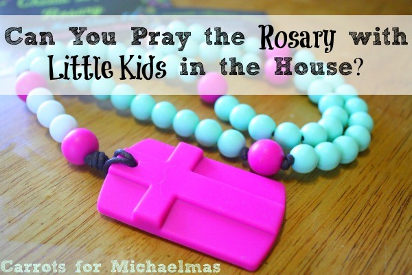 How to introduce the Rosary to your kids (and make it through a Rosary yourself, too!)