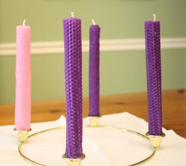 Finding Quiet in the Noise (Toadily Handmade Advent Candle Giveaway)