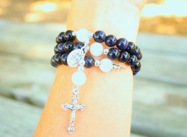 The Stella Maris Rosary Bracelet from Organic Mama
