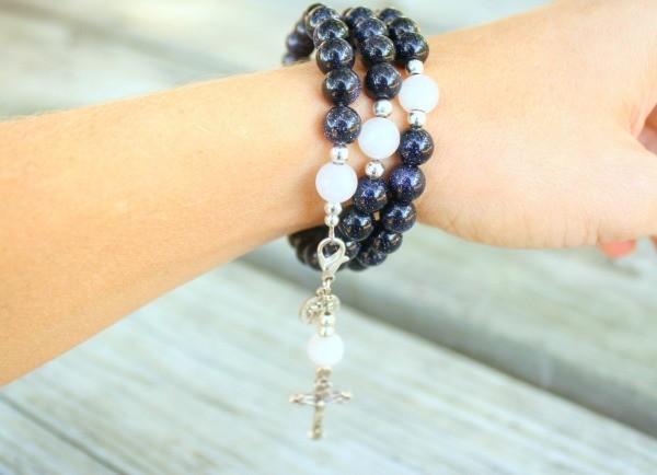 Stella Maris Rosary Bracelet from Organic Mama