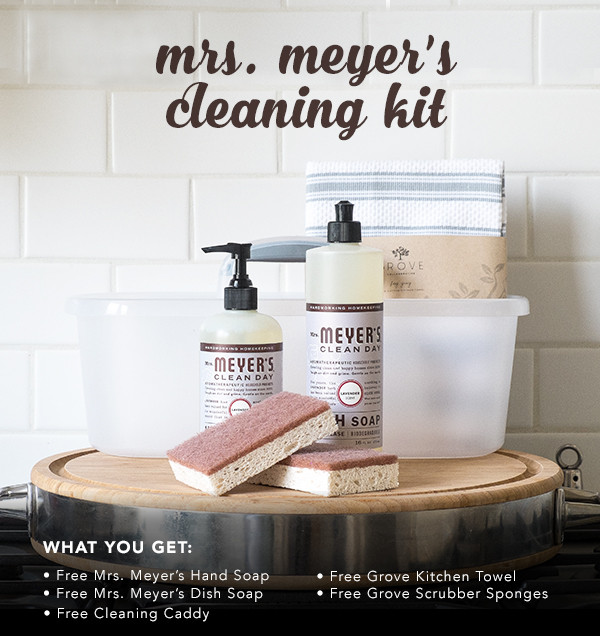 That Time I Got to Give Everybody a Free Mrs. Meyer's Cleaning Kit!