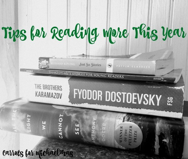 Tips for Reading More This Year!