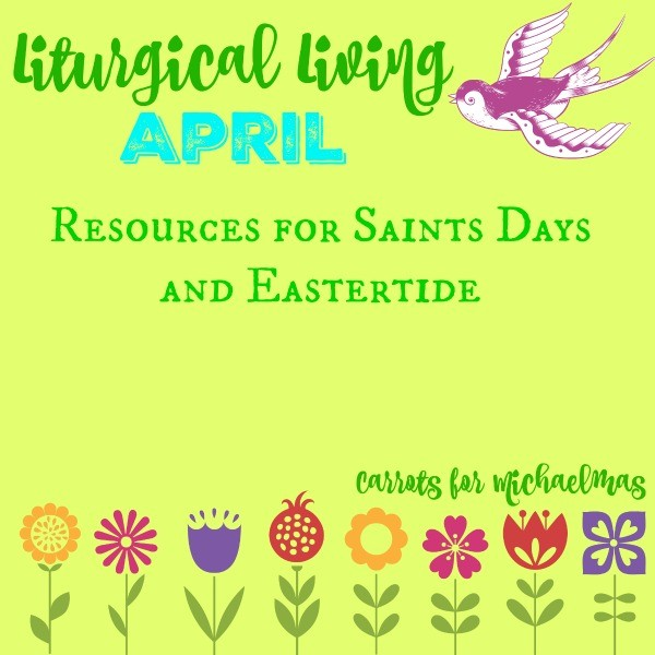 Liturgical Living at a Glance: April 2016