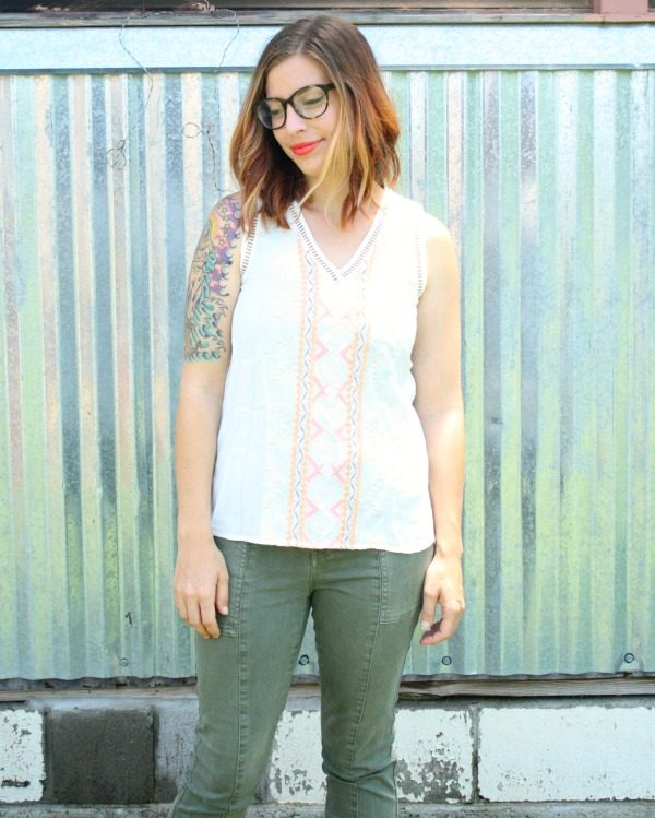 Solares Embroidered Panel top by Skies Are Blue from Stitch Fix