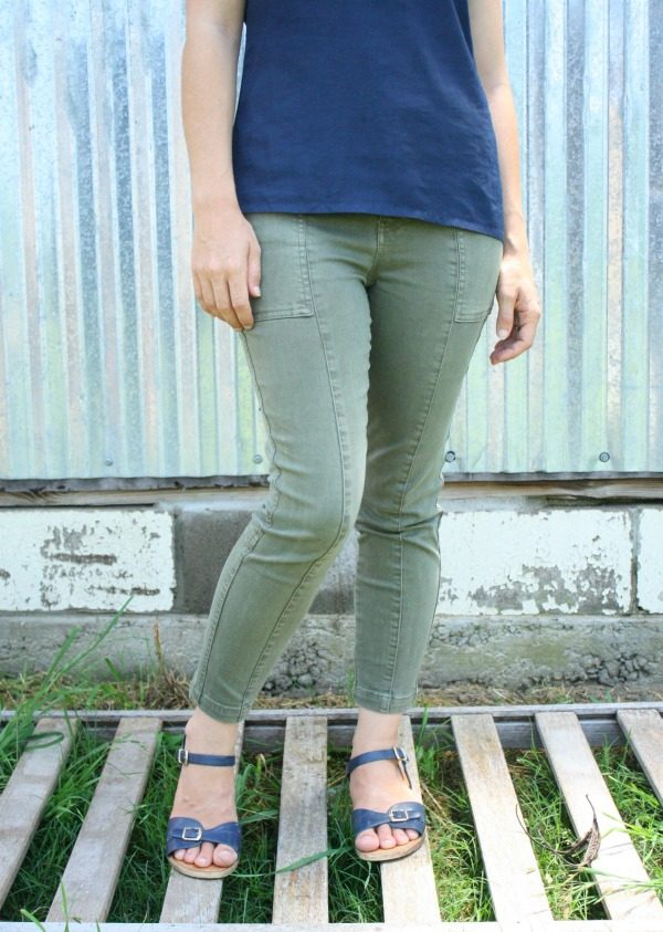 Indy Cropped Skinny Cargo Jean by Liverpool from Stitch Fix