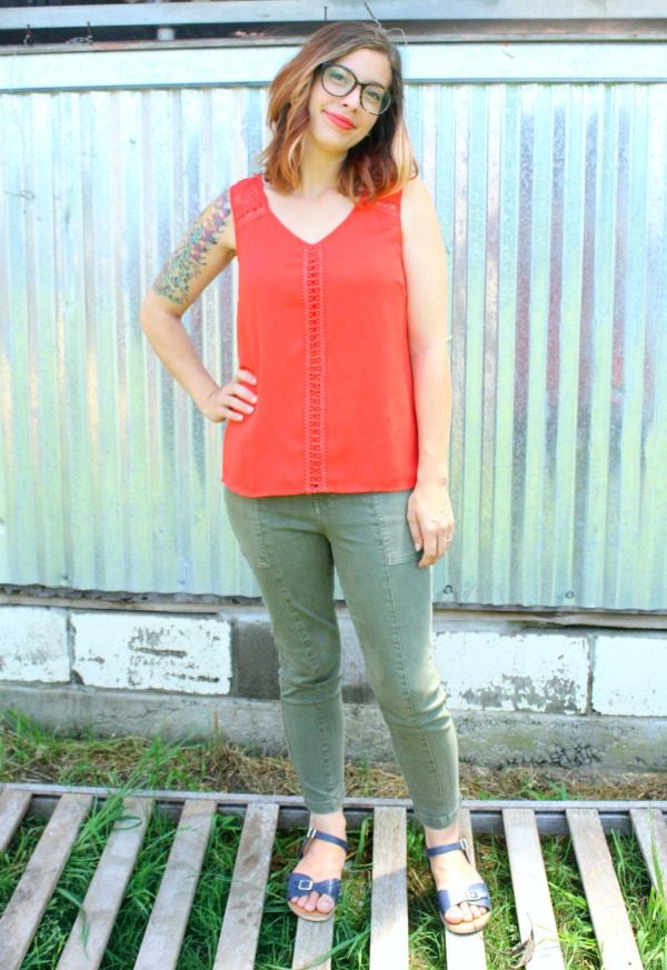 Rorik Strappy Back Top by Skies Are Blue from Stitch Fix