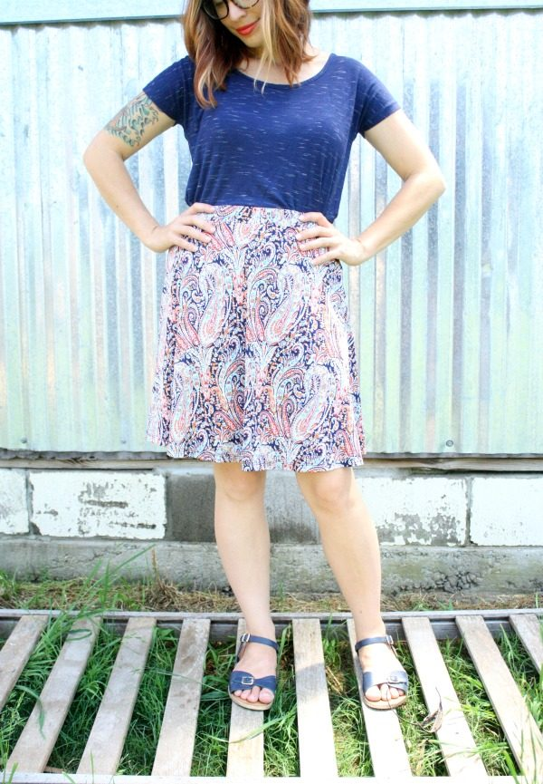 Morgen Printed Skirt by Gilli from Stitch Fix