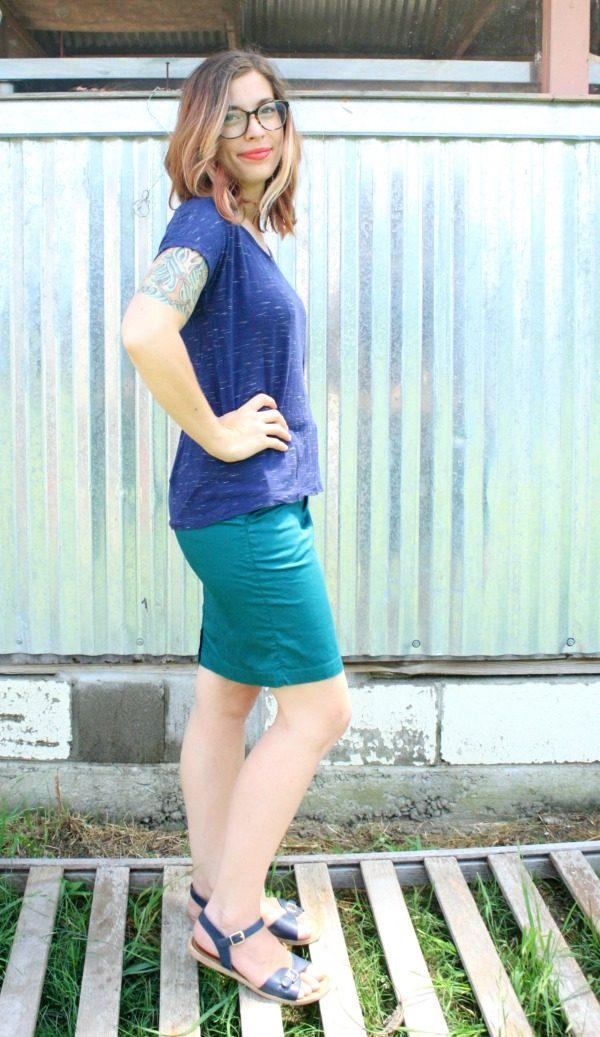 Gracelyn Pencil Skirt from Kut from the Kloth from Stitch Fix