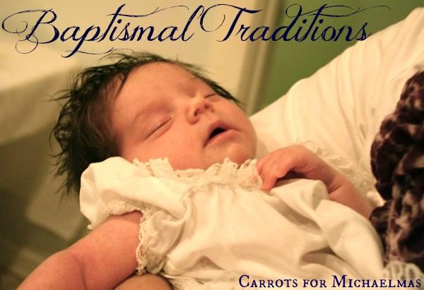 Baptismal Traditions (And Giveaway from CheruBalm!)