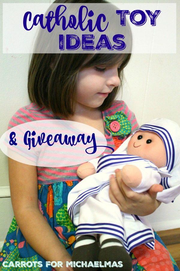 Catholic Toy Ideas from ABCatholic (And Giveaway)
