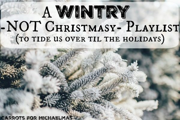 A Wintry (NOT Christmasy) Playlist of Cold Weather Music