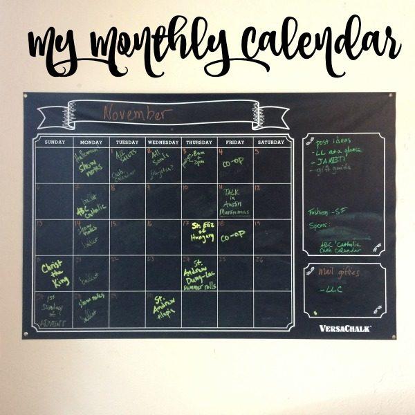 monthlycalendar