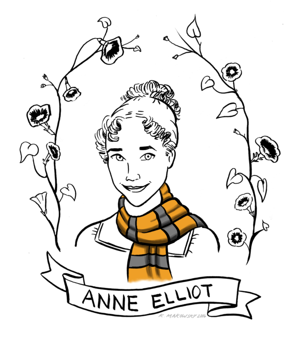 The Definitive Guide to Sorting Jane Austen Characters into Hogwarts Houses: Anne Elliot, Hufflepuff