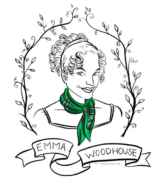 The Definitive Guide to Sorting Jane Austen Characters into Hogwarts Houses: Emma Woodhouse, Slytherin