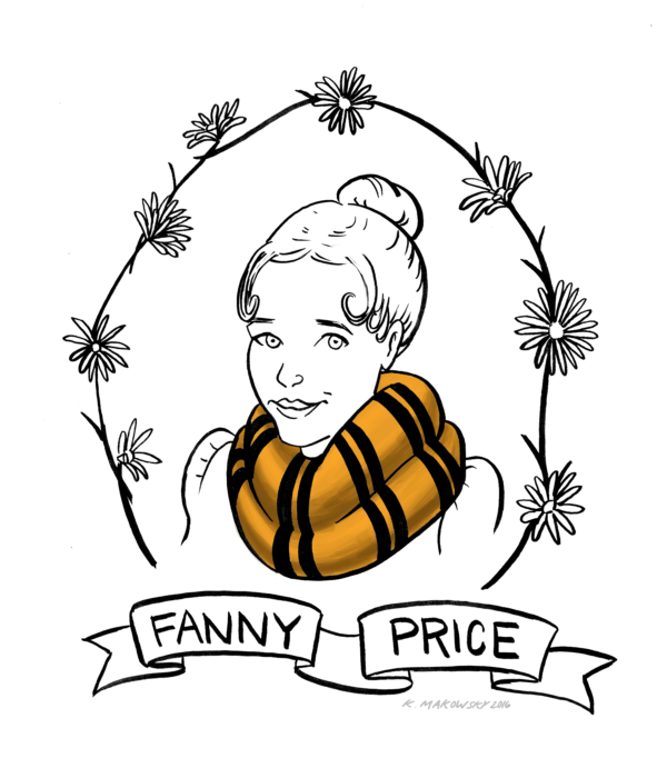 The Definitive Guide to Sorting Jane Austen Characters into Hogwarts Houses: Fanny Price, Hufflepuff