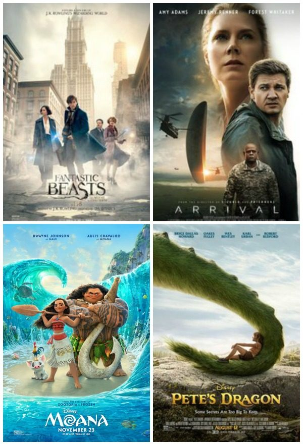 Movies I Saw in 2016
