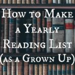 Want to make a reading list for YOU? Here's all the bookish advice on how to do it.