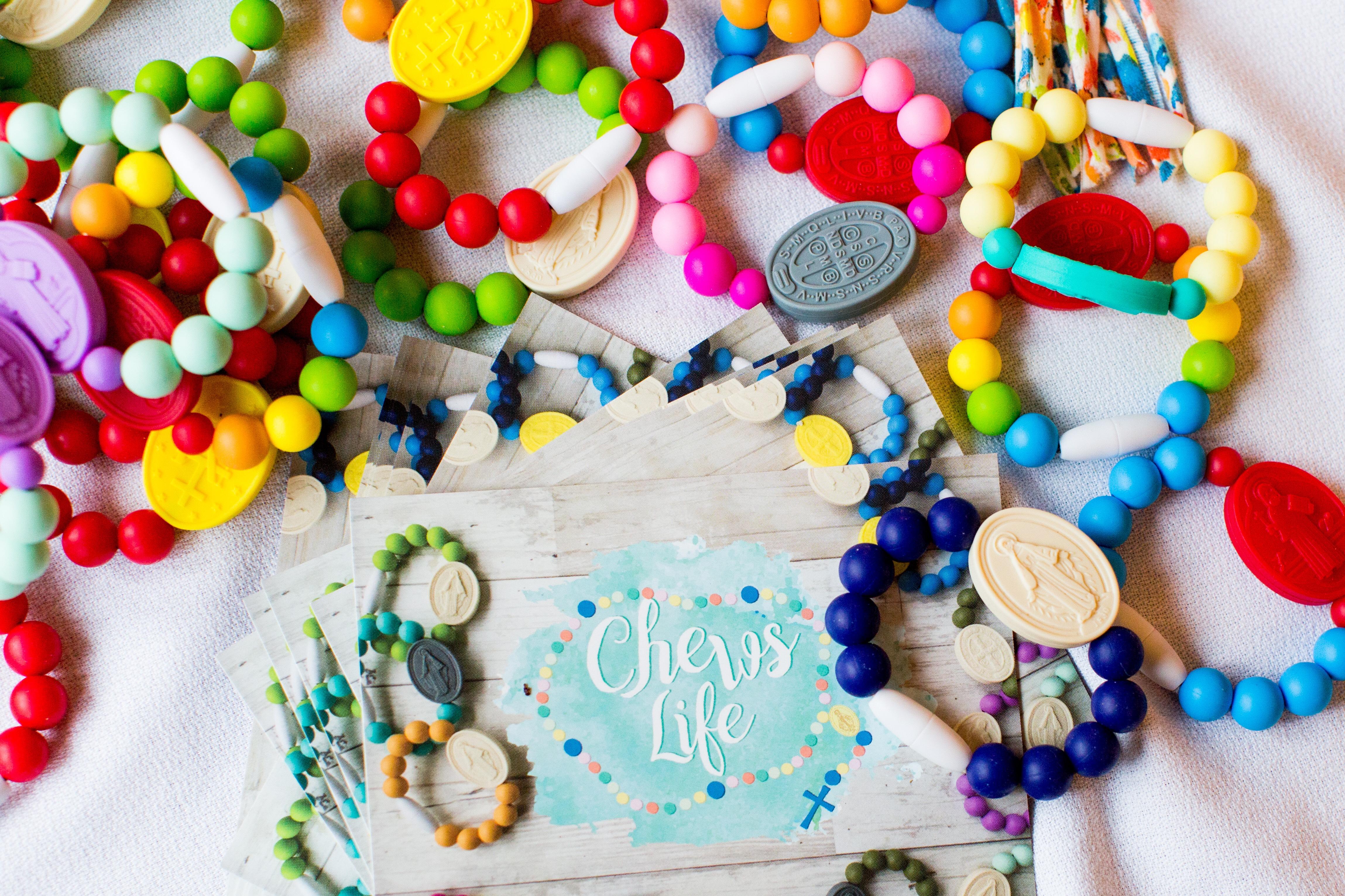 Chews Life decade bracelets