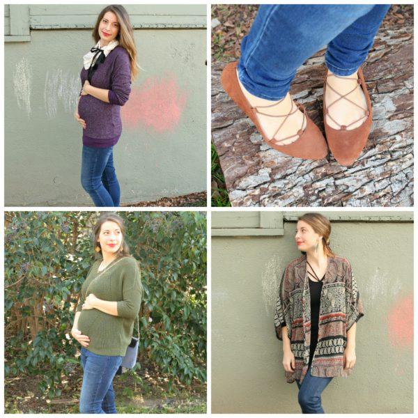 First Trimester Pregnancy Fashion with Stitch Fix