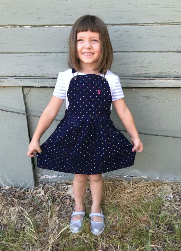 Dani Corduroy Dress by Joules, Rumi + Ryder The Graphic Tunic for Stitch Fix Kids